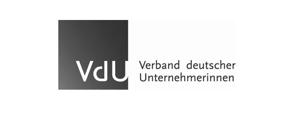 Logo Kunde VdU Verband deutscher Unternehmerinnen