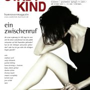 Titelbild Magazin Stadtkind Hannover - ein Zwischenruf. Frau rührt im Einheitsbrei der Politik