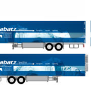 Folierung LKW Spedition Babatz