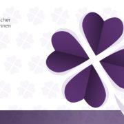 Design Glückwunschkarte für den VdU