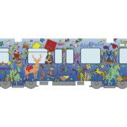 Vectorisierung und Reinzeichnung der Bahn TW6000 mit dem Künstler Della