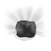 Illustration magischer Stein aus dem Buch Applejucy